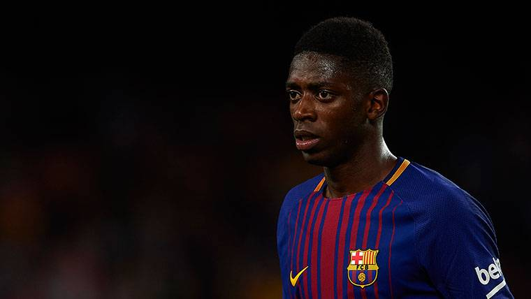 Ousmane Dembélé, muy verde en la vuelta tras su lesión