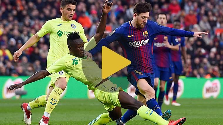 Vídeo resumen: FC Barcelona 0 Getafe 0 (LaLiga J23)