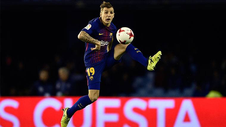 Digne encuentra de central el camino correcto en el Barça