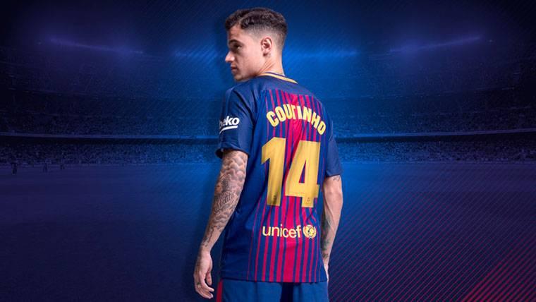 Philippe Coutinho será una pieza clave para ganar la Liga