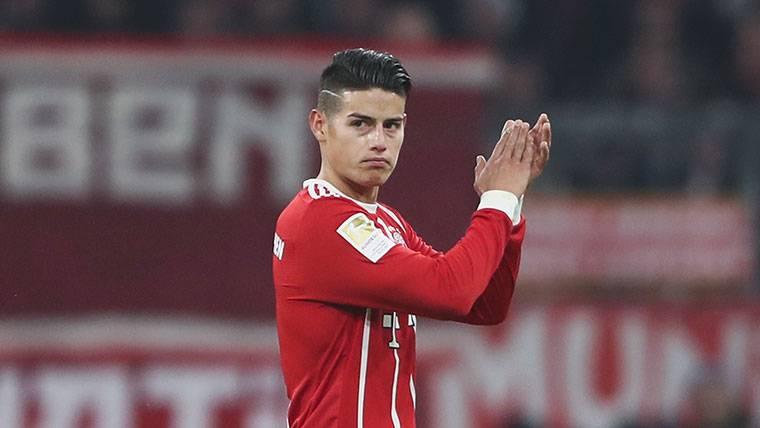 El Bayern, dispuesto a pagar 70 millones para quedarse a James