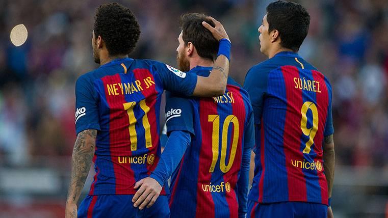 Messi, Suárez y Neymar no fueron el mejor ataque de Europa