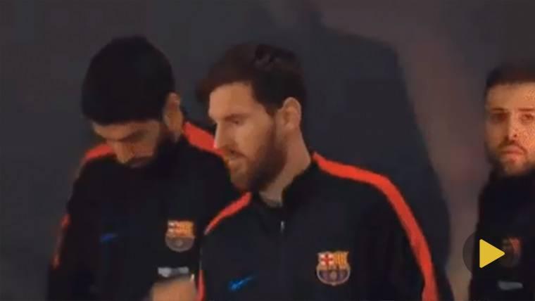 VIRAL: La reacción de Messi, Alba y Suárez que arrasa en las redes