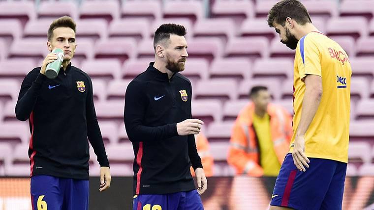 Dos jugadores del Barça vieron el Juventus-Tottenham en vivo