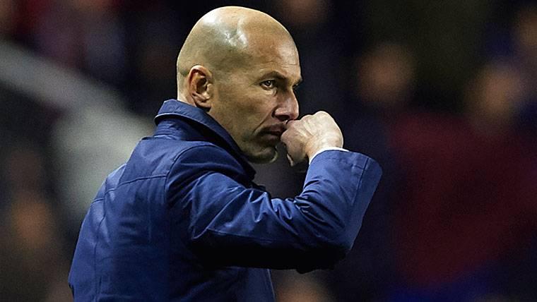 El once de Zidane para el Madrid-PSG, ¿con mensaje oculto?