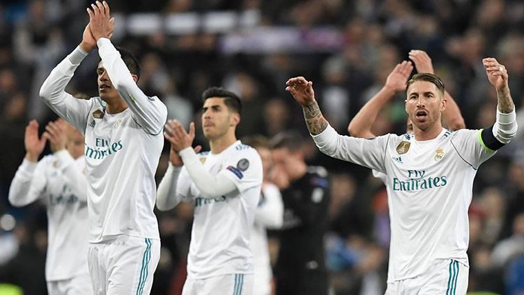 Esto dice Ramos sobre su penalti no pitado contra el PSG