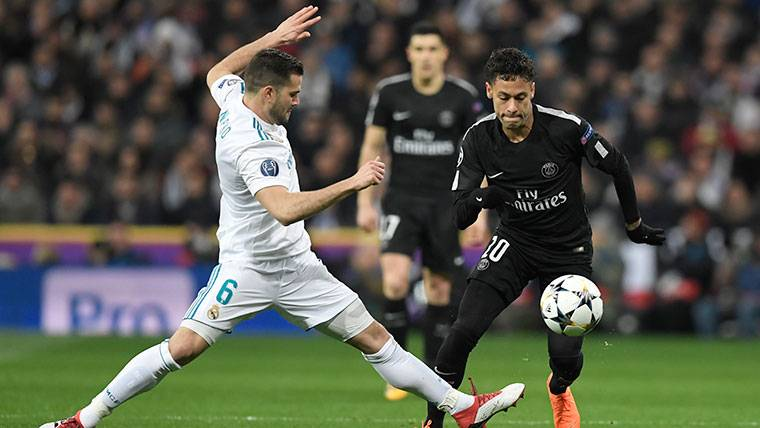 Neymar, en el Bernabéu se gana con Messi, no con el PSG