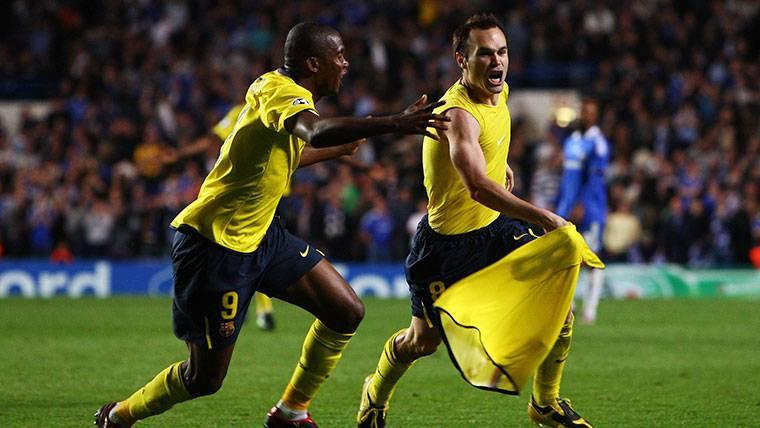Iniesta recuerda emocionado su gol histórico en un Chelsea-Barça