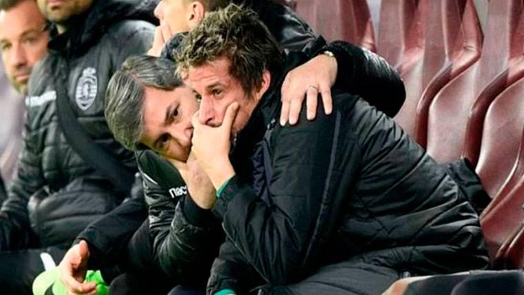 Coentrao, el ex del Real Madrid que llora cuando es sustituido