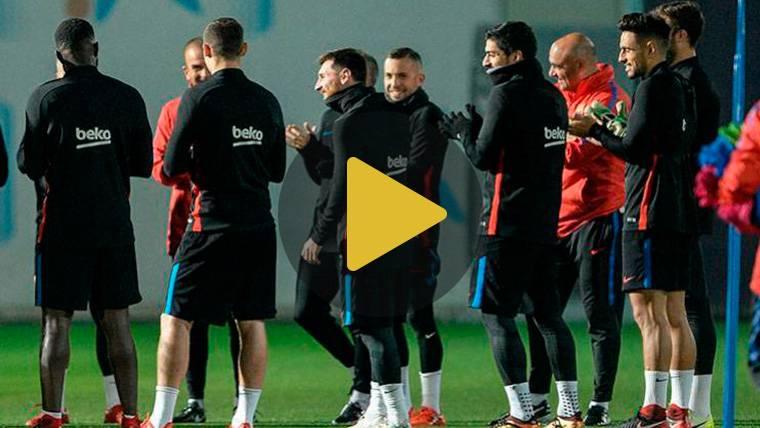 Lista de convocados de Valverde para el Eibar-FC Barcelona