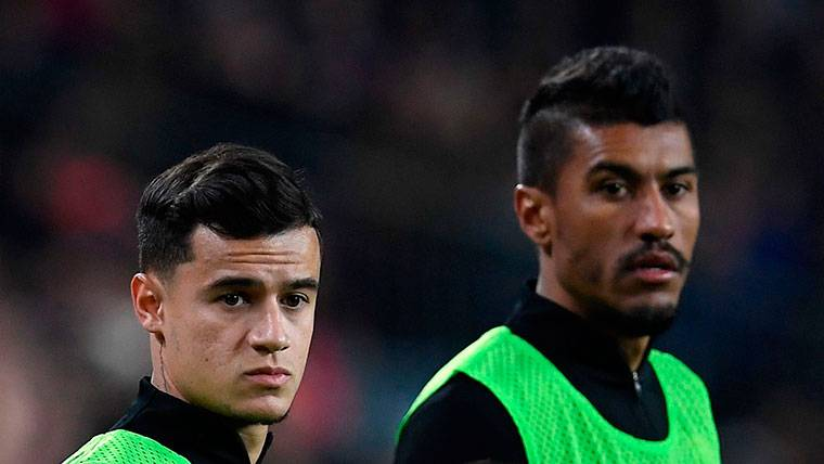 El técnico de Brasil lo tiene claro: Paulinho y Coutinho, no se tocan