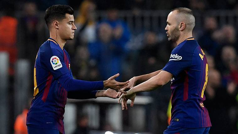 Valverde apuesta por Iniesta y frena la racha de Coutinho