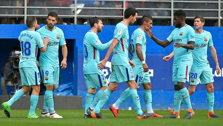 ¿La alineación del Barça, una prueba para la Champions?