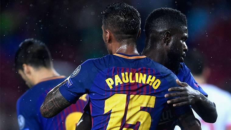 Paulinho y Umtiti, dos talismanes ligueros para el FC Barcelona