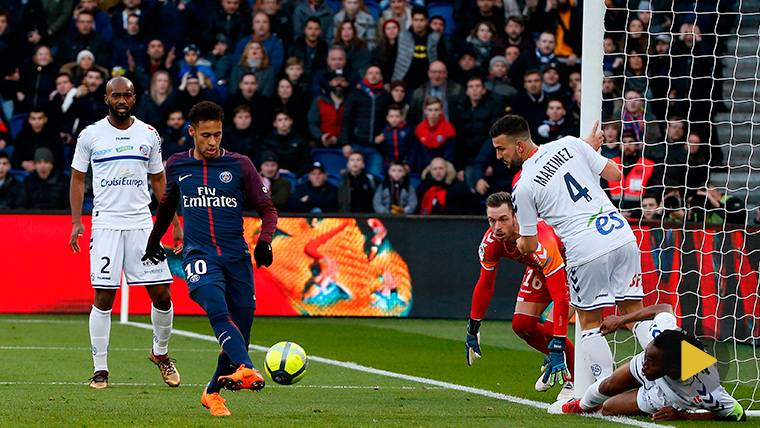 VIRAL: Jugadas espectaculares de Neymar en la liga francesa