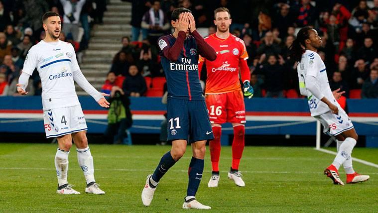 Tremenda 'rajada' contra el Paris Saint-Germain en Francia