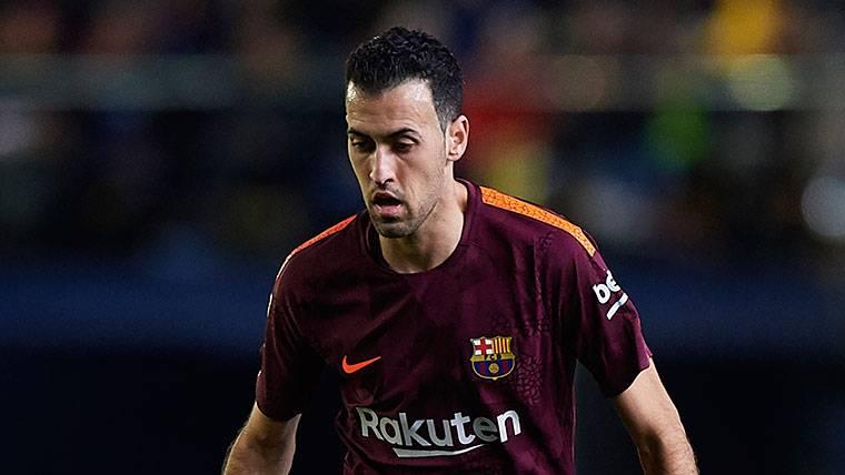 El mejor Sergio Busquets debe pilotar al Barça ante el Chelsea