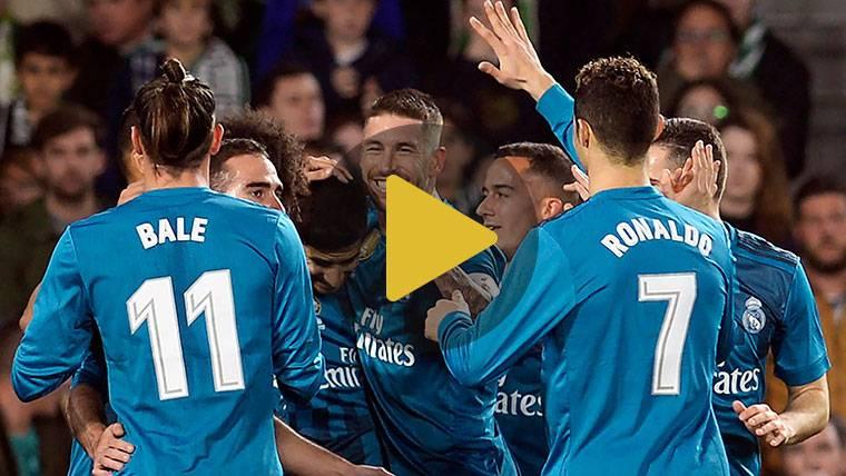El Real Madrid no falla ante el Real Betis tras un susto inicial