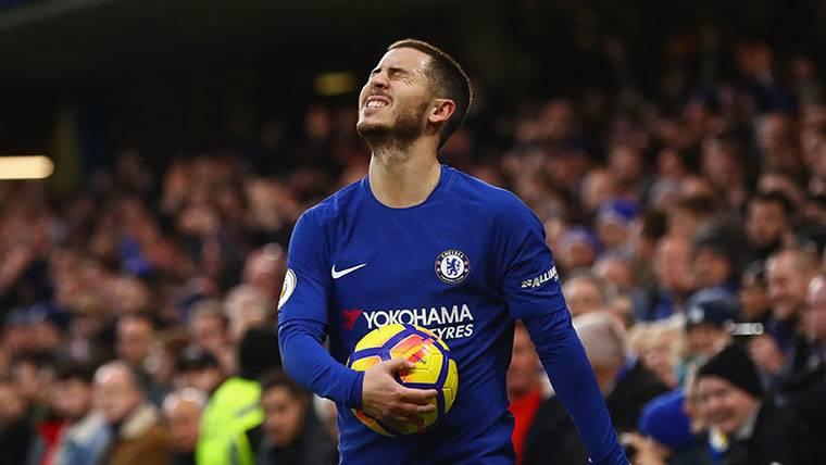Eden Hazard, estrella del Chelsea, lanza un reto al Barça