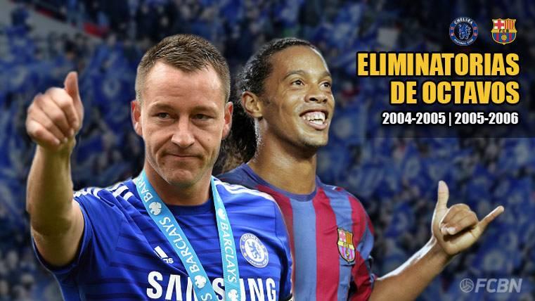 El origen de la gran la rivalidad entre FC Barcelona y Chelsea