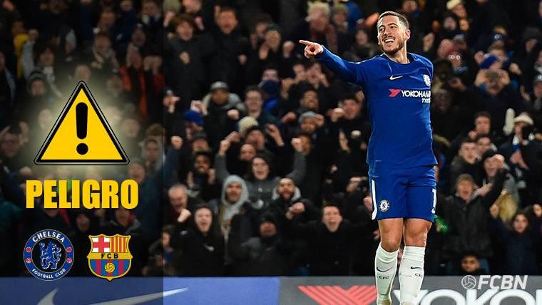 Cuidado, Barça: Hazard tiene ganas de 'guerra' en Champions