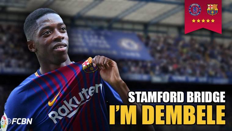 Chelsea-Barcelona: El partido más esperado para Dembélé