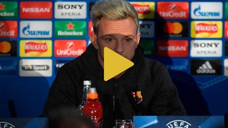 """Rakitic desvela la motivación de Messi: """"Trabaja muchísimo"""""""