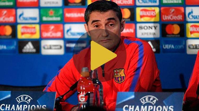 """Valverde: """"Dembélé está listo para jugar contra el Chelsea"""""""