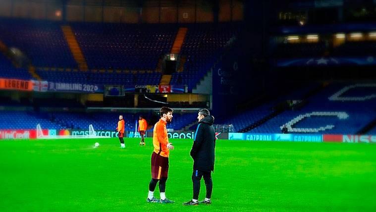 La preocupación inesperada del Barça en Stamford Bridge