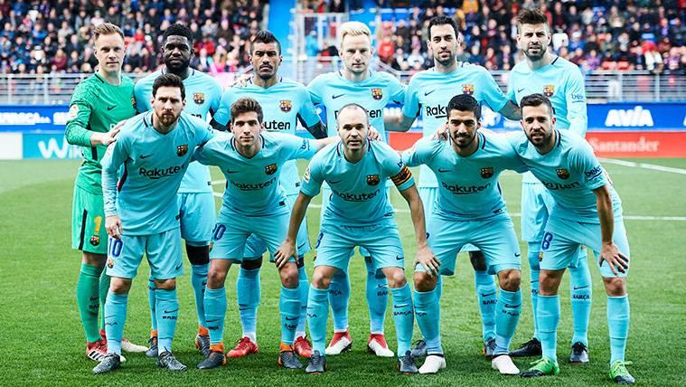 El FC Barcelona de Valverde ya tiene su propio once de gala
