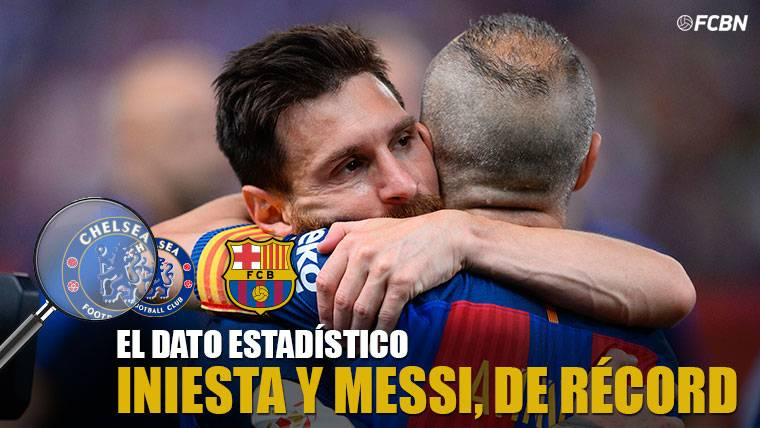 Andrés Iniesta y Leo Messi baten un récord en Stamford Bridge