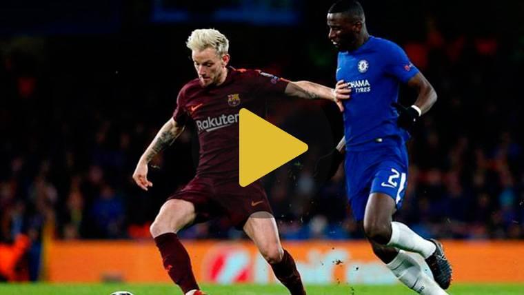 Rakitic revela por qué Dembélé no jugó contra el Chelsea