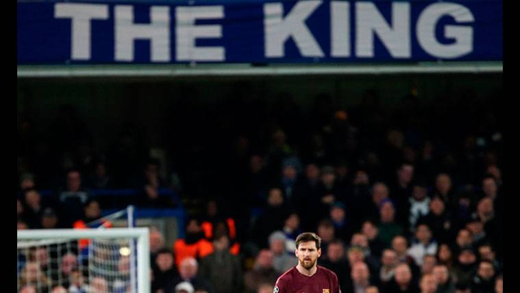 La foto de Messi en Stamford Bridge que se ha vuelto viral