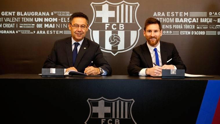 """""""No creo que el de Messi sea su último contrato con el Barça"""""""