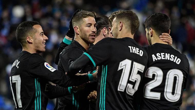 Un Real Madrid con suplentes esquiva un susto del Leganés