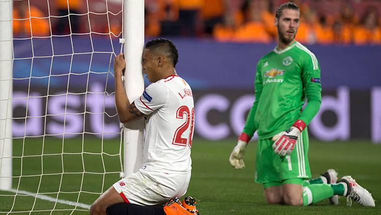 De Gea salva al United de un verdadero infierno en Sevilla