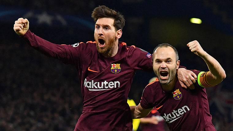 Andrés Iniesta y Leo Messi, los coleccionistas de títulos