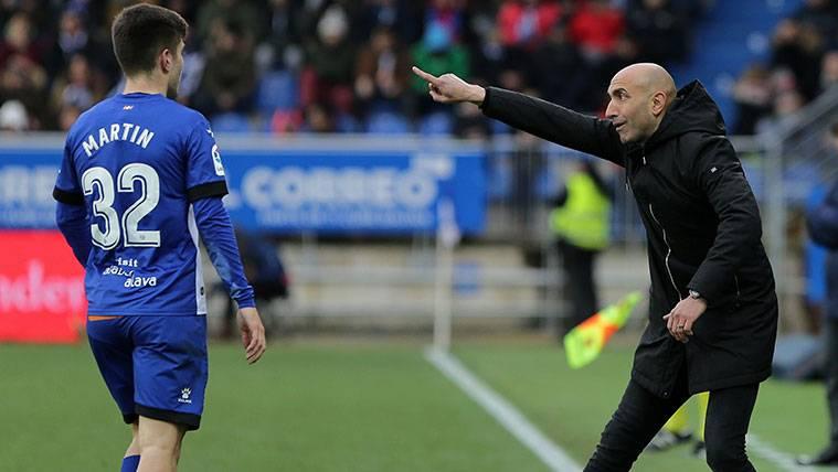 El azulgrana Abelardo quiere poner patas arriba el Bernabéu