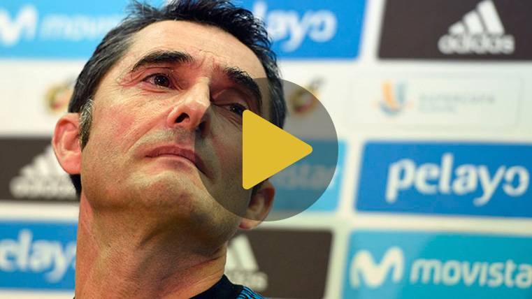 """Valverde: """"No creo que hayamos tenido un bajón, estamos bien"""""""