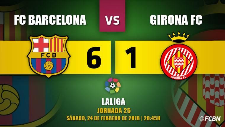 Messi, Suárez y Coutinho deleitan en la goleada del Barça (6-1)