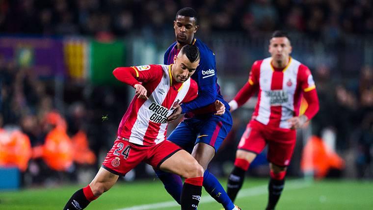 BAJA: Nelson Semedo cayó lesionado contra el Girona