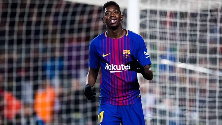 El mensaje del Camp Nou a Dembélé: Aplausos y paciencia