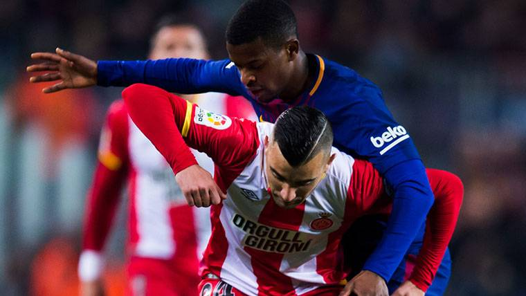 Mensaje optimista de Semedo tras lesionarse con el Barça