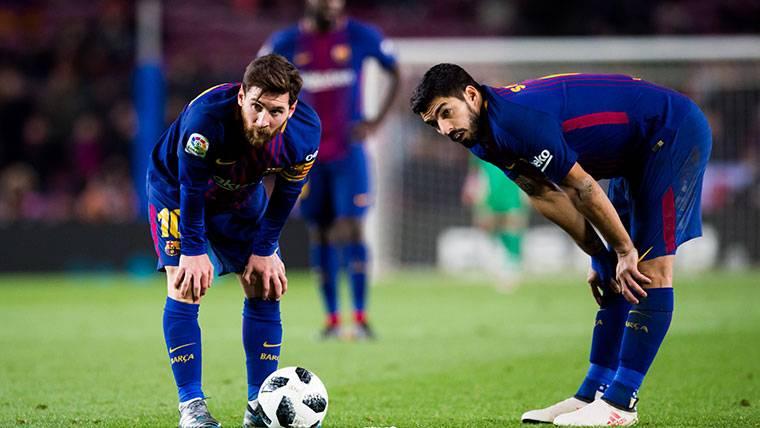 Messi y Luis Suárez podrían perderse el Las Palmas-Barça