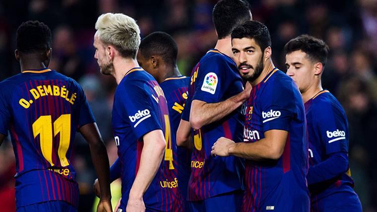 Las claves de la alineación del Barcelona contra Las Palmas