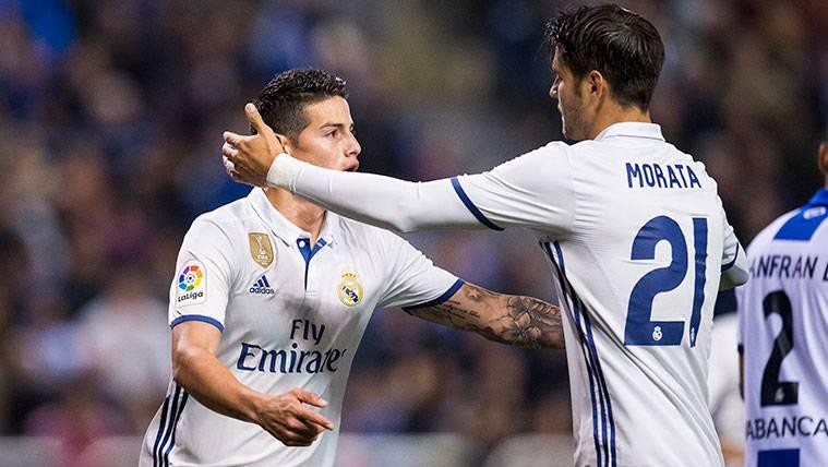 Las redes echan de menos a la pareja mágica del Real Madrid