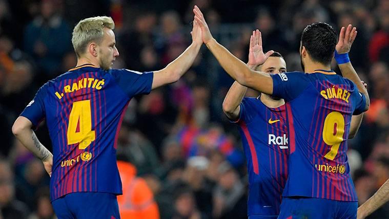 Rakitic, una referencia en el Barça a punto de cumplir los 200