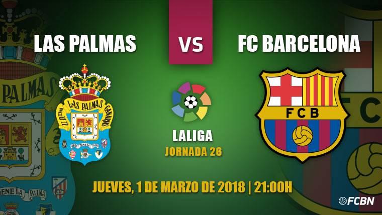 Las Palmas-FC Barcelona: deberes de Liga antes del Atlético