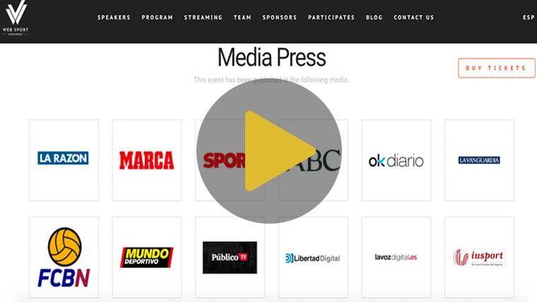 Llega a Barcelona el Web Sport Congress de Derecho Deportivo