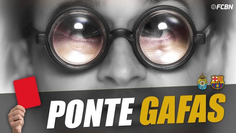 ¡Mateu Lahoz regaló un penalti inexistente a Las Palmas!